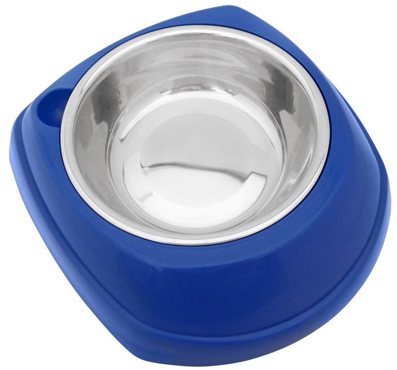 造型塑膠+白鐵碗(S)