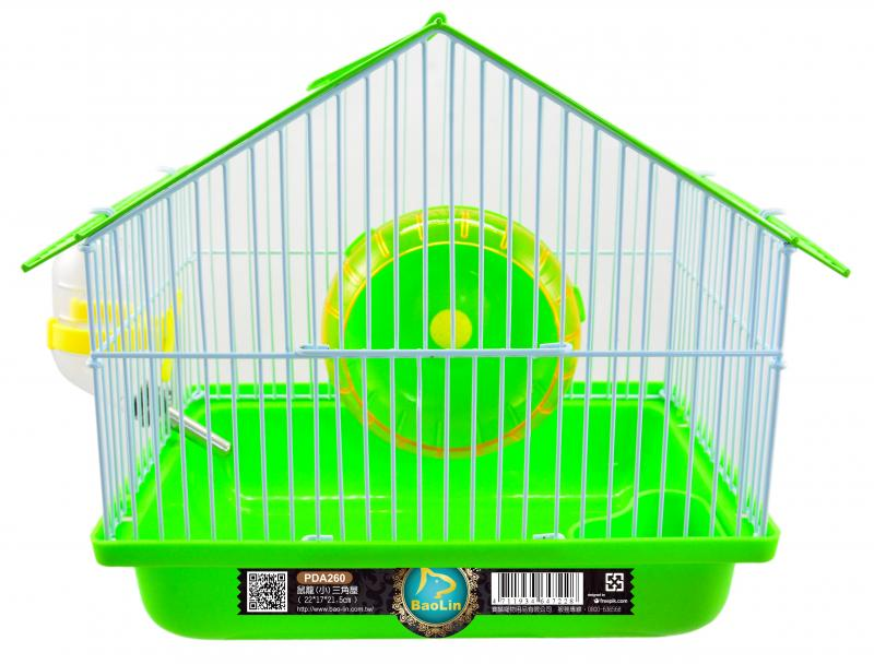 鼠籠(小)三角屋   綠.黃.藍.橘