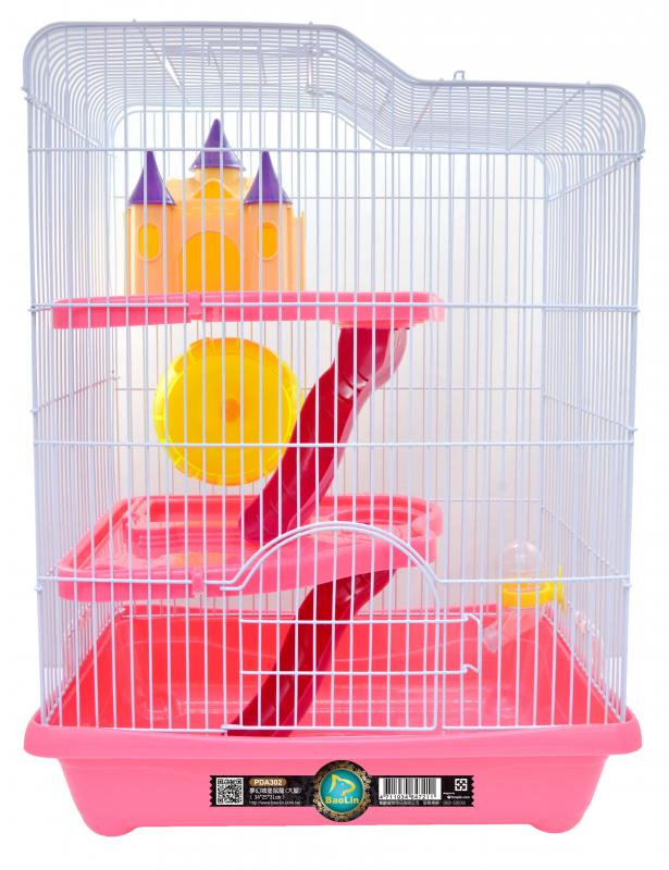 夢幻城堡三層鼠籠(大屋)