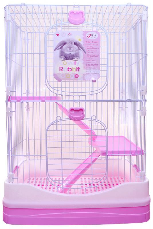 優米卡豪華兔籠(雙層)