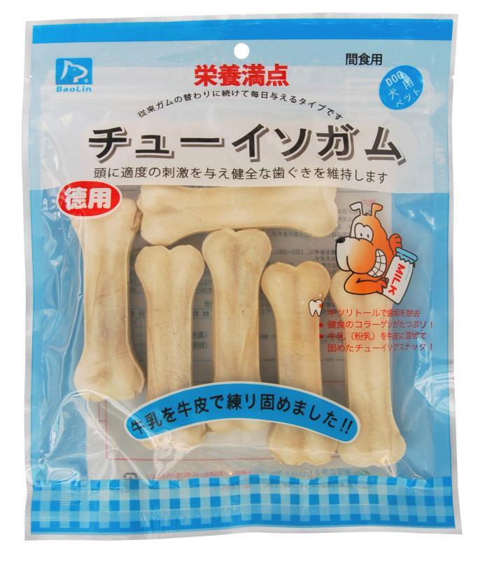 皮骨硬骨4寸牛奶6枚入