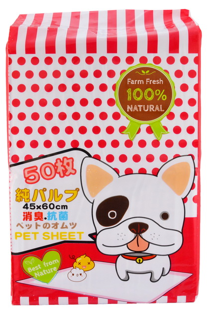 MOMOTA高分子寵物片50入45*60cm