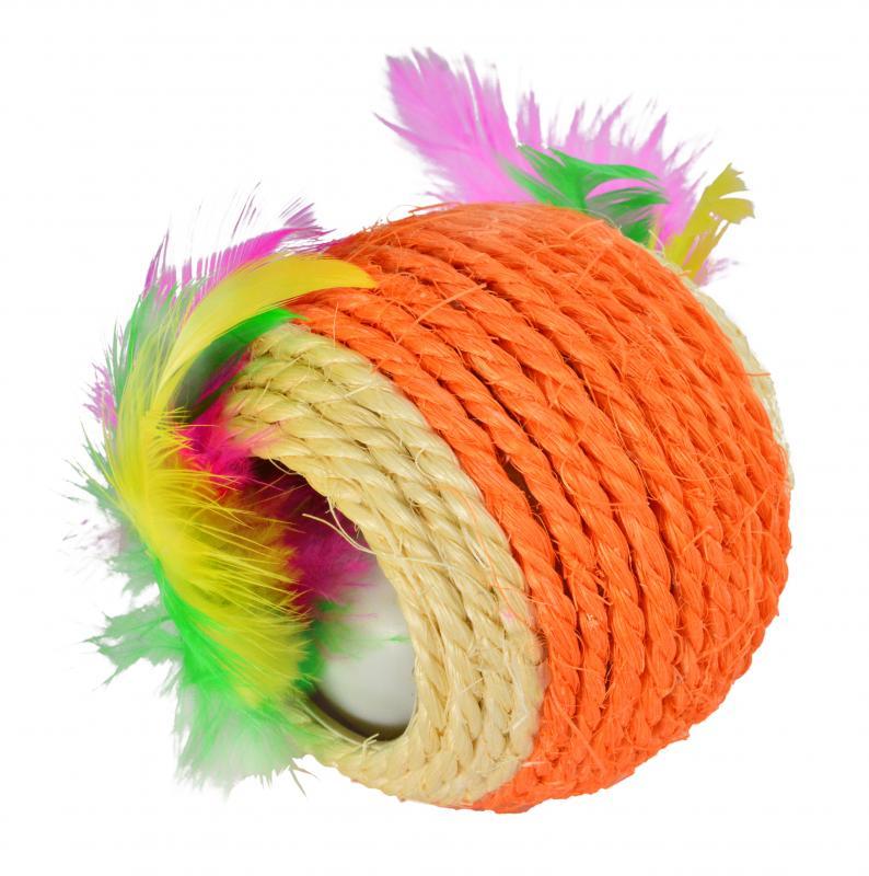 貓玩具球(彩色球)