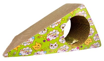 優米卡貓玩具 (瓦楞紙) 三角大抓板