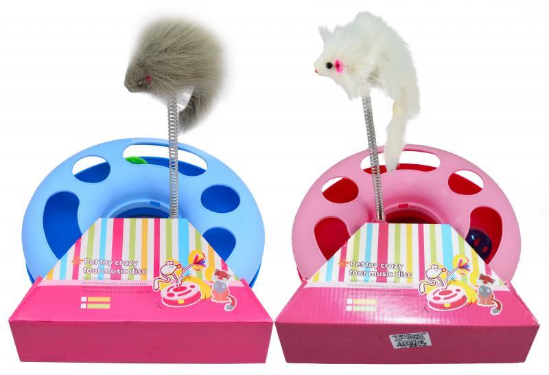 優米卡貓圓形遊戲盤