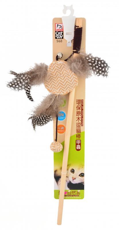 貓玩具(環保木桿) 甲蟲