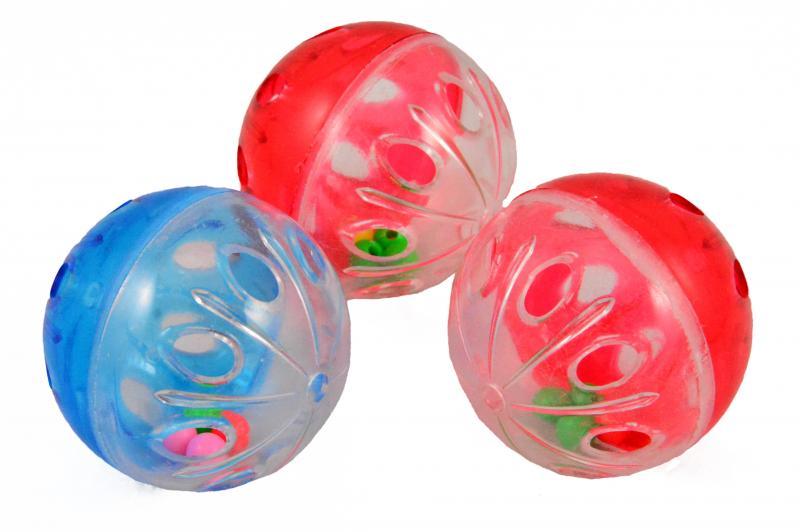 貓玩具(鈴鐺球) 3入